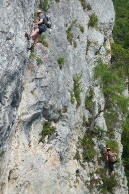 Klettersteig / Rakousko Štýrsko - Hochschwab-Gruppe_101