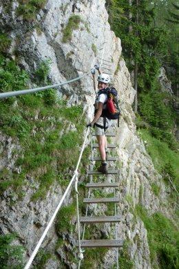 Klettersteig / Rakousko Štýrsko - Hochschwab-Gruppe_104