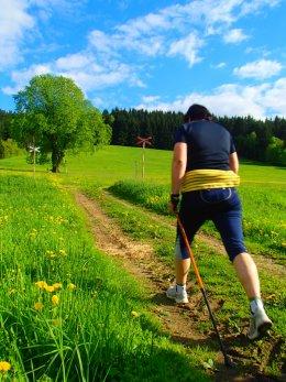 Nordic Walking II. Po valašských kopcoch._1072