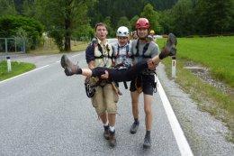 Klettersteig / Rakousko Štýrsko - Hochschwab-Gruppe_113