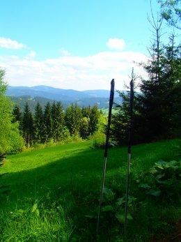 Nordic Walking II. Po valašských kopcoch._1148
