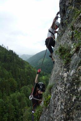 Klettersteig / Rakousko Štýrsko - Hochschwab-Gruppe_117