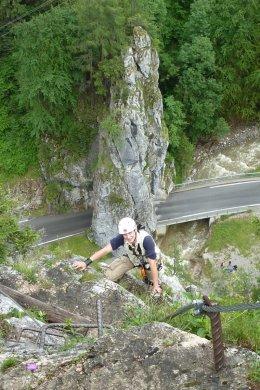 Klettersteig / Rakousko Štýrsko - Hochschwab-Gruppe_122