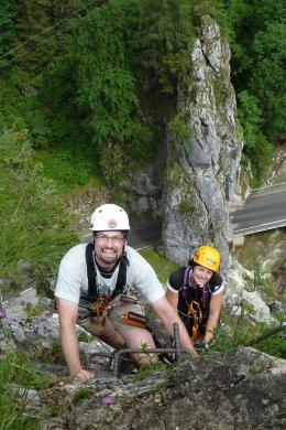 Klettersteig / Rakousko Štýrsko - Hochschwab-Gruppe_123