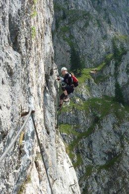Klettersteig / Rakousko Štýrsko - Hochschwab-Gruppe_134