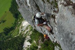 Klettersteig / Rakousko Štýrsko - Hochschwab-Gruppe_137
