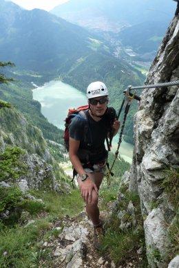 Klettersteig / Rakousko Štýrsko - Hochschwab-Gruppe_139