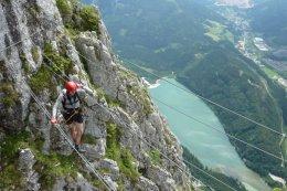 Klettersteig / Rakousko Štýrsko - Hochschwab-Gruppe_146