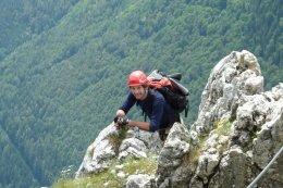 Klettersteig / Rakousko Štýrsko - Hochschwab-Gruppe_160