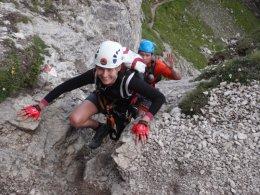 Klettersteig 2012 / Lienzer Dolomiten_298