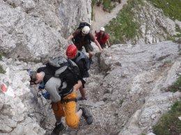 Klettersteig 2012 / Lienzer Dolomiten_299