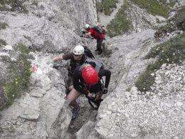 Klettersteig 2012 / Lienzer Dolomiten_300