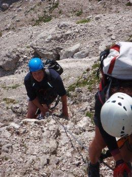 Klettersteig 2012 / Lienzer Dolomiten_317