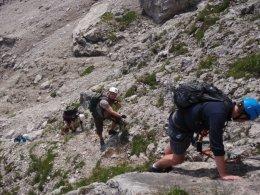 Klettersteig 2012 / Lienzer Dolomiten_318