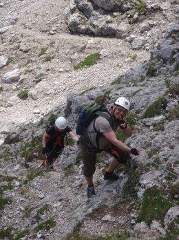 Klettersteig 2012 / Lienzer Dolomiten_319