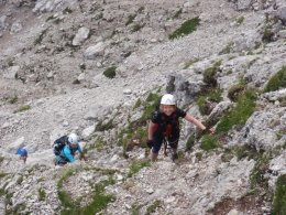 Klettersteig 2012 / Lienzer Dolomiten_320