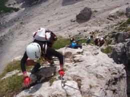 Klettersteig 2012 / Lienzer Dolomiten_321