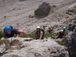 Klettersteig 2012 / Lienzer Dolomiten_323