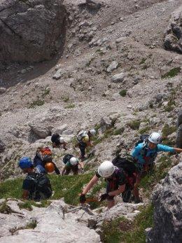 Klettersteig 2012 / Lienzer Dolomiten_324