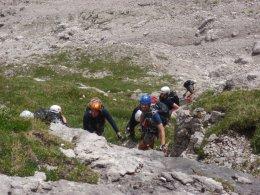 Klettersteig 2012 / Lienzer Dolomiten_325