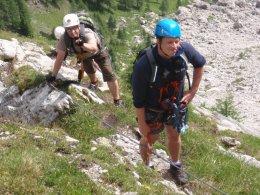 Klettersteig 2012 / Lienzer Dolomiten_326