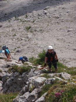 Klettersteig 2012 / Lienzer Dolomiten_327