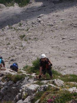 Klettersteig 2012 / Lienzer Dolomiten_328