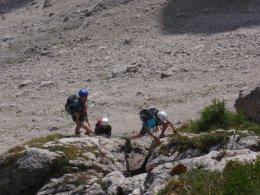 Klettersteig 2012 / Lienzer Dolomiten_329