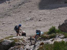 Klettersteig 2012 / Lienzer Dolomiten_330