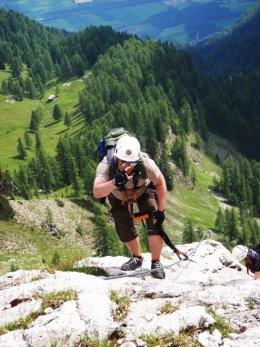 Klettersteig 2012 / Lienzer Dolomiten_333