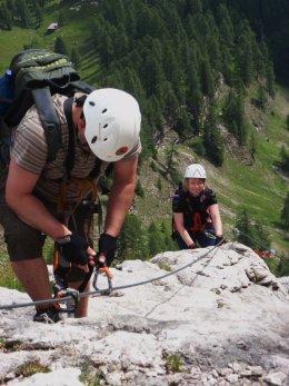 Klettersteig 2012 / Lienzer Dolomiten_334