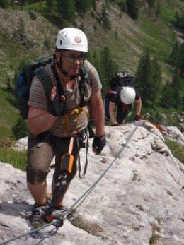 Klettersteig 2012 / Lienzer Dolomiten_335