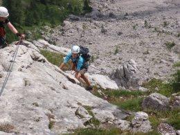 Klettersteig 2012 / Lienzer Dolomiten_336