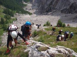 Klettersteig 2012 / Lienzer Dolomiten_337