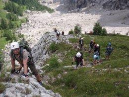 Klettersteig 2012 / Lienzer Dolomiten_338