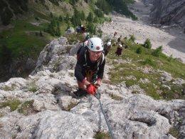 Klettersteig 2012 / Lienzer Dolomiten_339