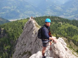Klettersteig 2012 / Lienzer Dolomiten_340
