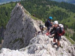 Klettersteig 2012 / Lienzer Dolomiten_342