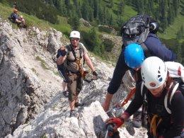Klettersteig 2012 / Lienzer Dolomiten_343