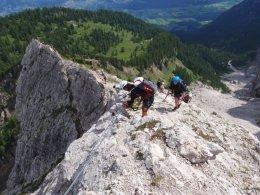 Klettersteig 2012 / Lienzer Dolomiten_345