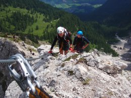 Klettersteig 2012 / Lienzer Dolomiten_346