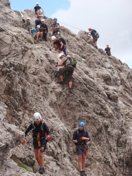 Klettersteig 2012 / Lienzer Dolomiten_350