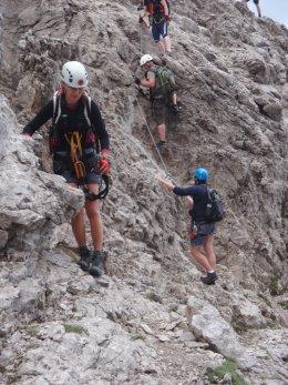 Klettersteig 2012 / Lienzer Dolomiten_351