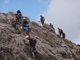 Klettersteig 2012 / Lienzer Dolomiten_352