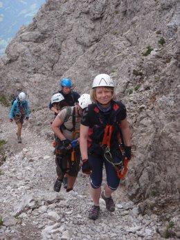 Klettersteig 2012 / Lienzer Dolomiten_353