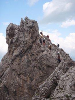 Klettersteig 2012 / Lienzer Dolomiten_354