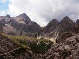 Klettersteig 2012 / Lienzer Dolomiten_358