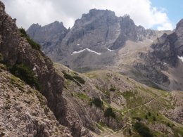 Klettersteig 2012 / Lienzer Dolomiten_362