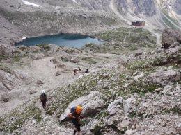 Klettersteig 2012 / Lienzer Dolomiten_363