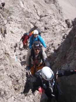 Klettersteig 2012 / Lienzer Dolomiten_370